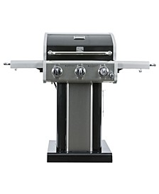 3 Burners Pedestal Grill