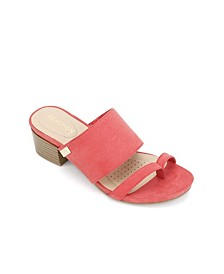 Late Mule Sandals
