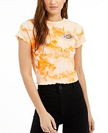 Junior's Tie-Dye Lettuce-Edge Baby T-Shirt
