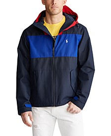 Men's Color-Blocked Hooded Jacket