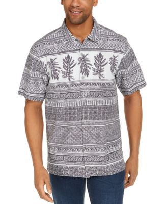 Tommy Bahama Mens Sail Over Stripe Stretch Long Sleeve Shirt