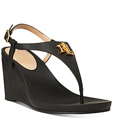 Jeannie Wedge Sandals