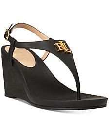 Jeannie Wedge Sandals