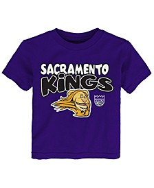 Toddlers Sacramento Kings Basic Logo T-Shirt