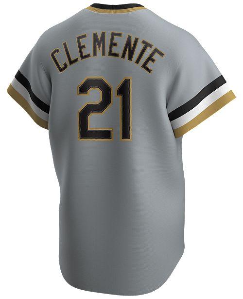 Nike Men's Roberto Clemente Pittsburgh Pirates Coop Player Replica Jersey
