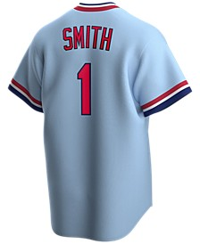 Men's Ozzie Smith St. Louis Cardinals Coop Player Replica Jersey