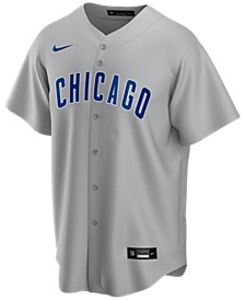 Men's Chicago Cubs Official Blank Replica Jersey