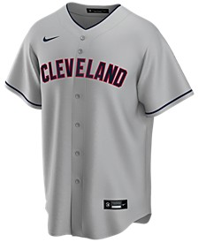 Men's Cleveland Indians Official Blank Replica Jersey