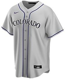 Men's Colorado Rockies Official Blank Replica Jersey