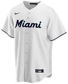 Men's Miami Marlins Official Blank Replica Jersey