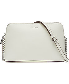 DKNY Bryant Leather Dome Crossbody, Created for Macy's