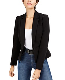 Puff-Sleeve Blazer, Created for Macy's