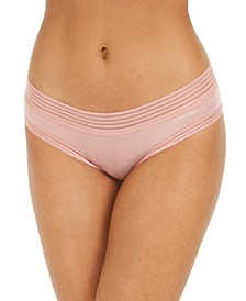 Striped-Waist Hipster Underwear QD3672