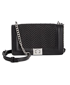 INC Baby Ajae Woven Crossbody, Created for Macy's