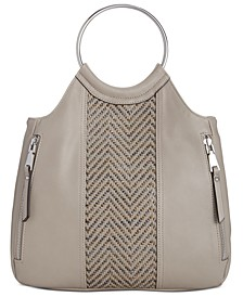 INC Huw Bangle Woven Crossbody, Created for Macy's