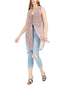 Abstract Sleeveless Tunic Top, Created for Macy's