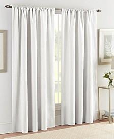 "Realeza Sunset European Matelasse Window Panel Pair 50""W x 84""L"