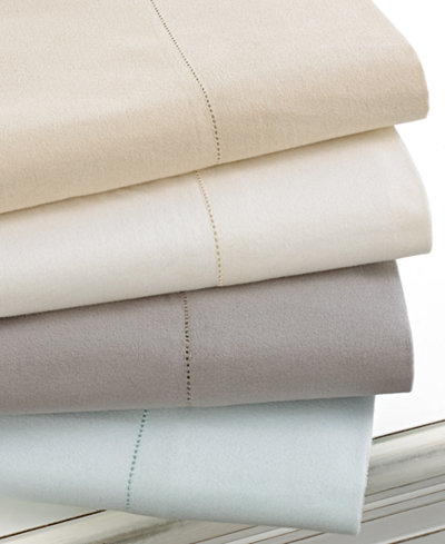 CLOSEOUT! Martha Stewart Collection Luxury 100% Cotton Flannel Sheet Sets