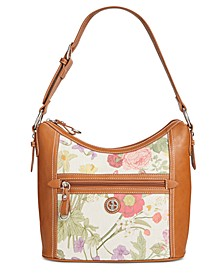 Botanical Linen Hobo, Created for Macy's