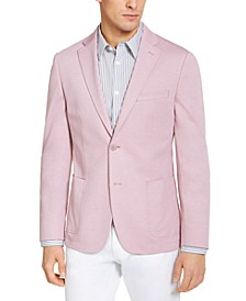 Mens Slim-Fit Knit Sport Coat