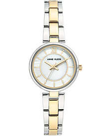 Anne Klein Women's Two-Tone Bracelet Watch 26mm