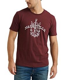Men's Nashville Guitars Graphic T-Shirt