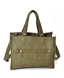 Removable/Adjustable Long Strap Satchel Bag