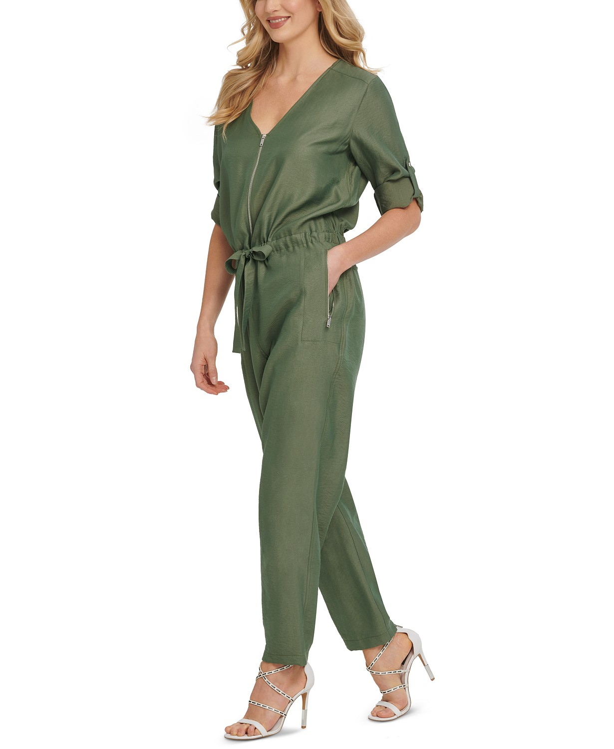 Foundation Long-Sleeve Jumpsuit