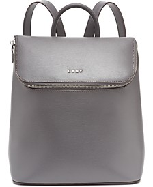 Bryant Park Leather Top Zip Backpack, Created for Macy's