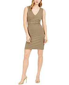 Belted Bodycon Dress, Created For Macy's