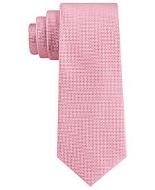 Men's Solid Basketweave Tie