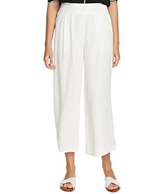 Trendy Plus Size Wide-Leg Crepe Pants