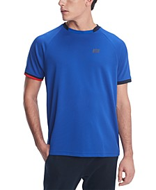 Men's Allen Custom-Fit Colorblocked Performance Polo Shirt