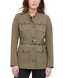 Calvin Klein Belted Utility Jacket