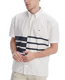 Men's Moore Stripe Shirt, Created for Macy's