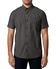 Men's Baja Chambray Stretch Short Sleeve Shirt