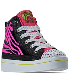 Little Girls Flip Kicks Twi-Lites 2.0 Neon Muse High Top Casual Sneakers from Finish Line