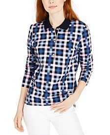 Bostonian Plaid Polo Shi