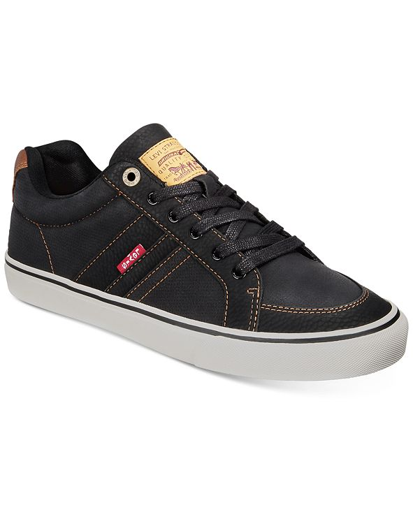 Levi's Men's Turner Tumbled Waxed Sneakers