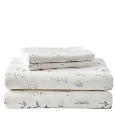 Geese Meadow Twin Sheet Set