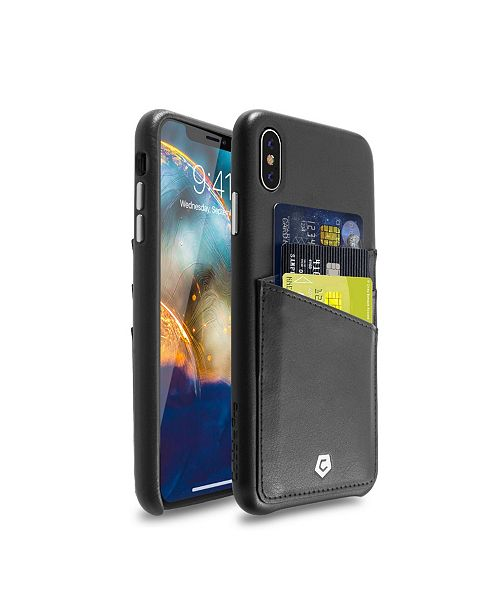 Cobble Pro Premium Leather Case with ID Credit Card Slot for Apple iPhone XS Max