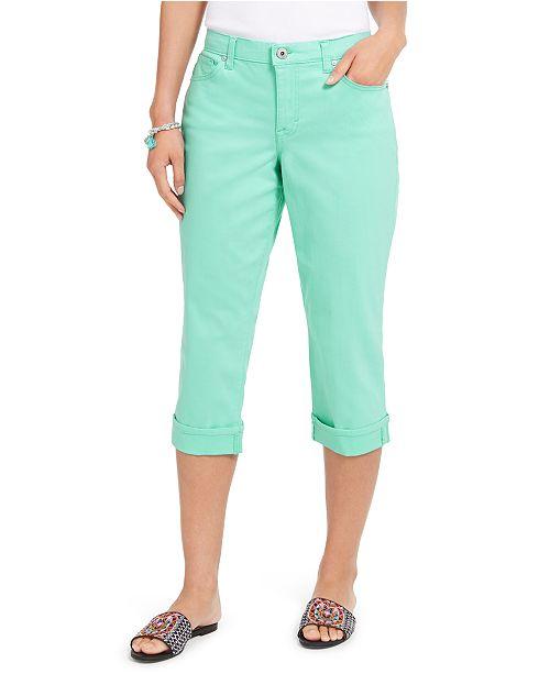 Style & Co Curvy Capri, Created for Macy's