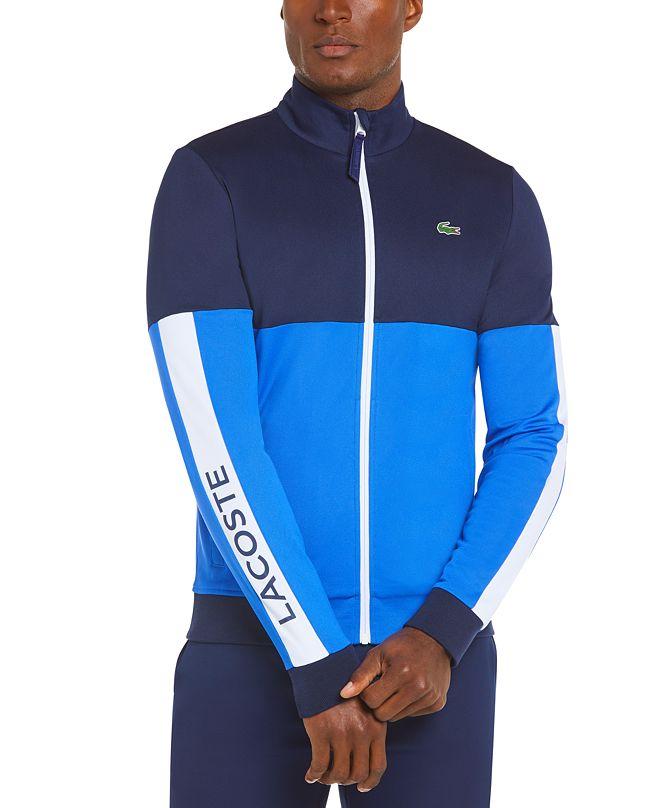 Lacoste Men's Sport Long Sleeve Colorblock Jacket