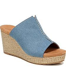 Perla Platform Wedge Sandals