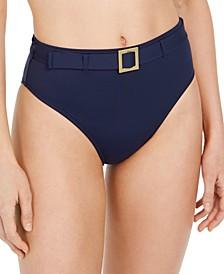Annie High-Waist Bikini Bottoms