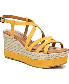 Yolanda Strappy Flatform Wedge Sandals