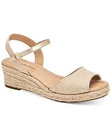 Luchia Platform Wedge Sandals, Created for Macy's