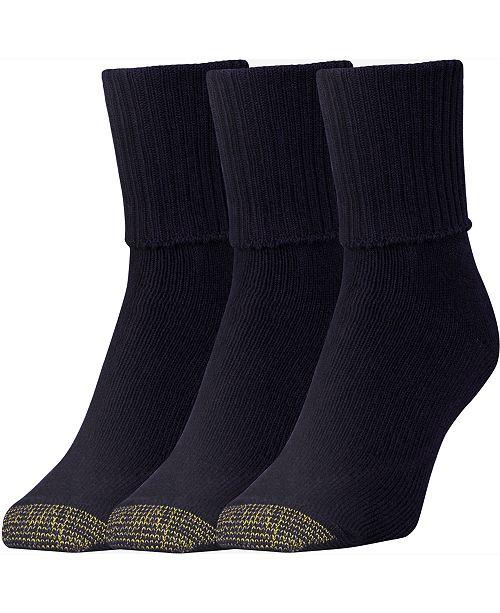 Gold Toe GOLDTOE® Women's 3-Pk. Bermuda Socks