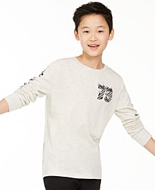 Big Boys Checker T-Shirt, Created for Macy's