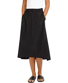High-Low A-Line Skirt, Regular & Petite Sizes